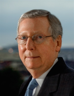 Sen. McConnell contends that if the Senate can pass its highway bill quickly, the House may be persuaded to agree to a multi-year package. Photo: mcconnell.senate.gov