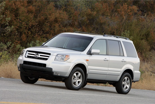 Photo of 2008 Honda Pilot courtesy of Honda.
