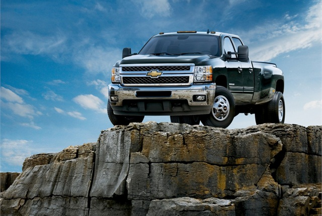 Photo of Chevrolet Silverado HD courtesy of General Motors.