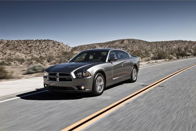 2011 Dodge Charger. Photo courtesy of Chrysler Group.
