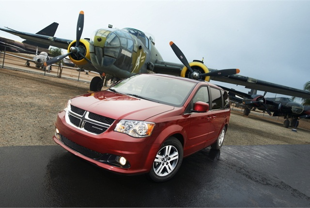 Photo of 2011 Dodge Grand Caravan courtesy of Chrysler Group.