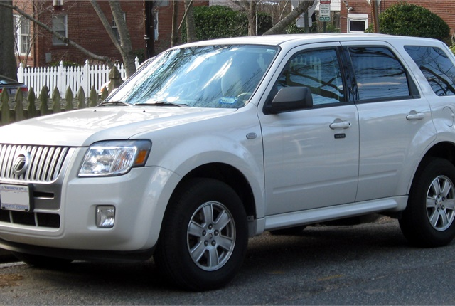 Photo of Mercury Mariner courtesy of Wikimedia Commons.