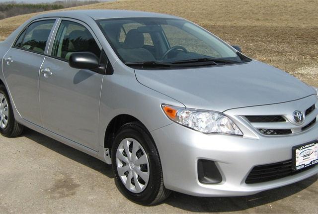 Photo of Toyota Corolla by NHTSA via Wikimedia Commons.