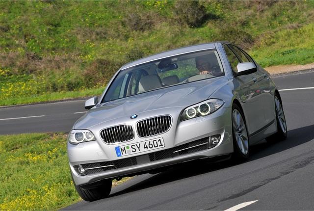 Photo of 2012 BMW 528i courtesy of BMW.