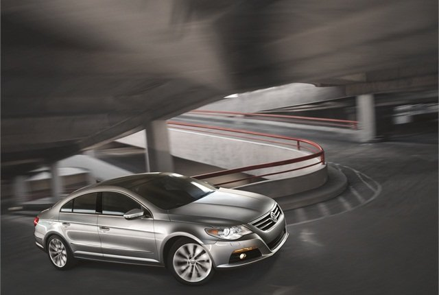 Image of Volkswagen CC courtesy of Volkswagen.