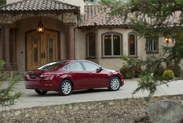 2012 Mazda6 photo courtesy of Mazda.