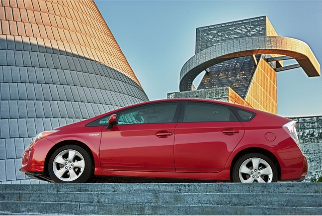 Toyota Prius. Photo courtesy of Toyota.