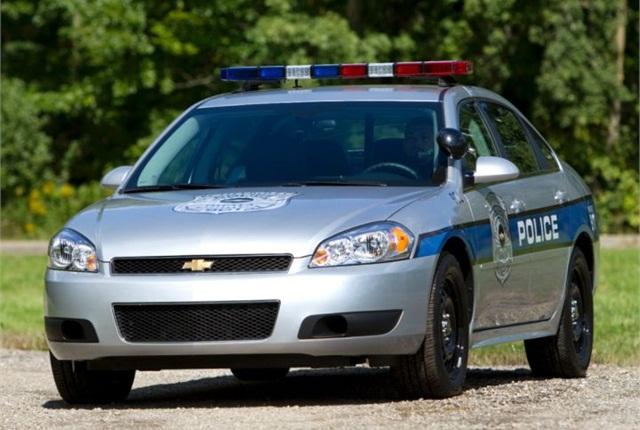 Photo of 2013 Chevrolet Impala PPV courtesy of GM.