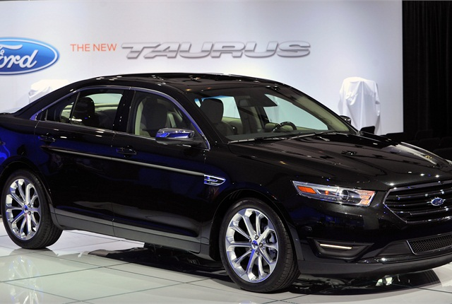 Photo of Ford Taurus courtesy of Ford Motor Co.