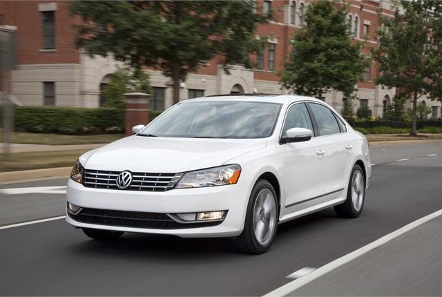 Photo of Volkswagen Passat courtesy of Volkswagen.