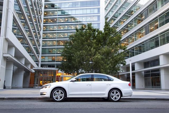 Photo of Passat courtesy of Volkswagen.