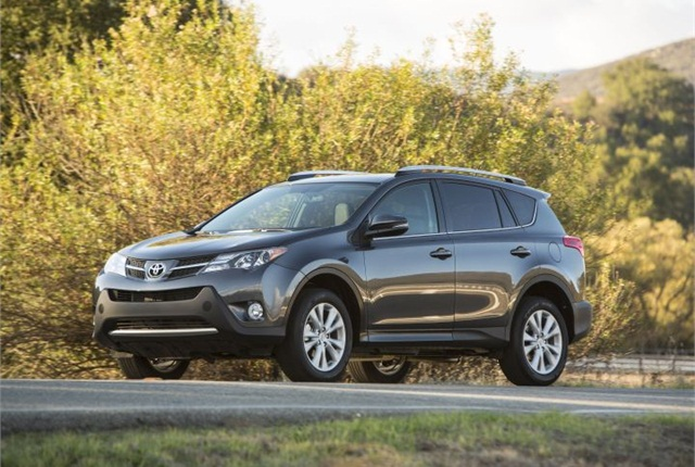 Photo of 2013 RAV4 courtesy of Toyota.