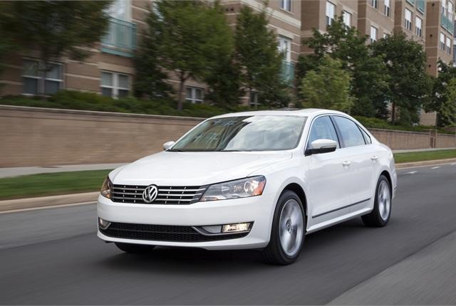 2013 Volkswagen Passat photo courtesy of Volkswagen.