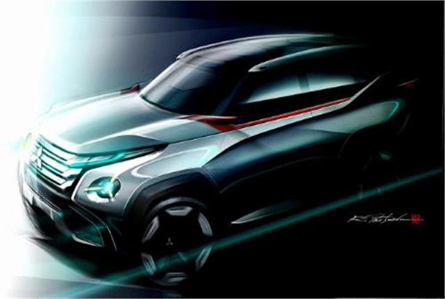 Mitsubishi unveiled its GC-PHEV concept at the Tokyo Motor Show.