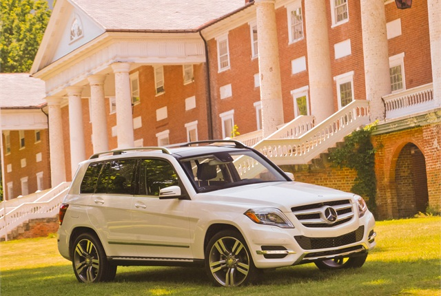 Photo of 2013 GLK350 courtesy of Mercedes-Benz.