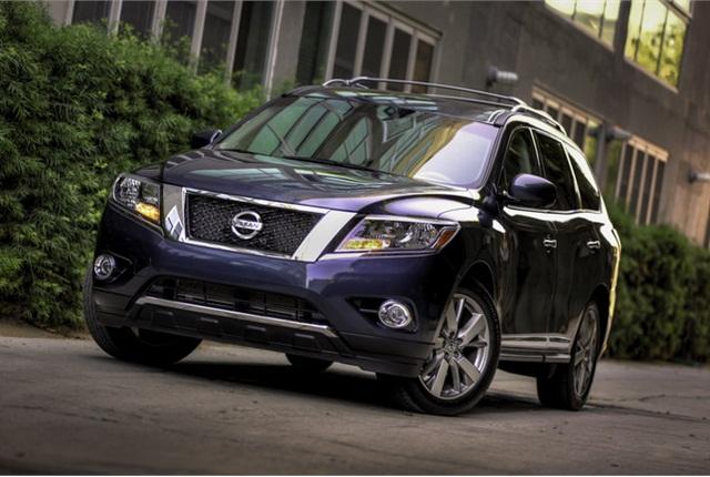 2013 Nissan Pathfinder photo courtesy of Nissan.