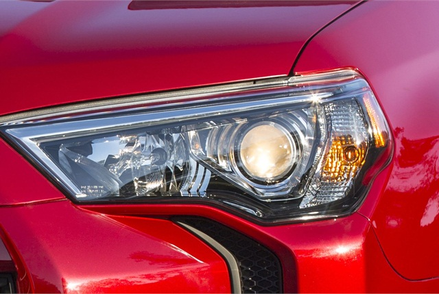 A teaser image of Toyota's redesigned 4Runner. Photo courtesy Toyota.