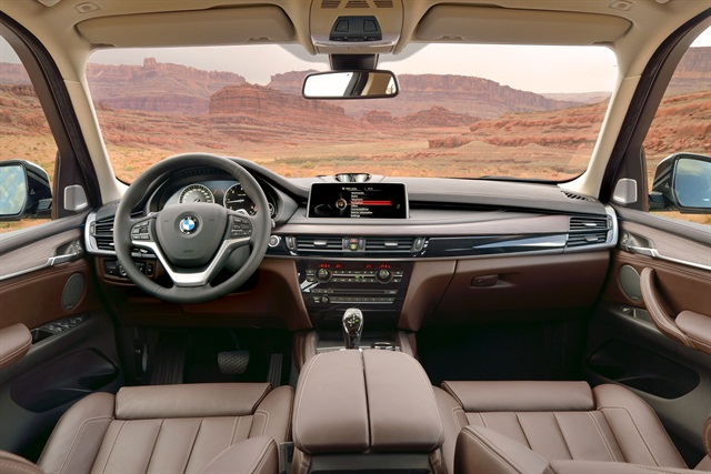 Inside, BMW offers updated interior materials and a range of interior package choices. Photo courtesy BMW.