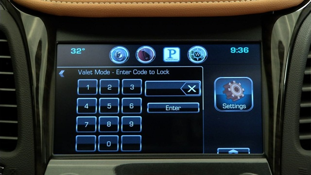 """GM offers a new """"valet mode"""" on its all-new 2014-MY Chevrolet Impala. Photo courtesy GM."""