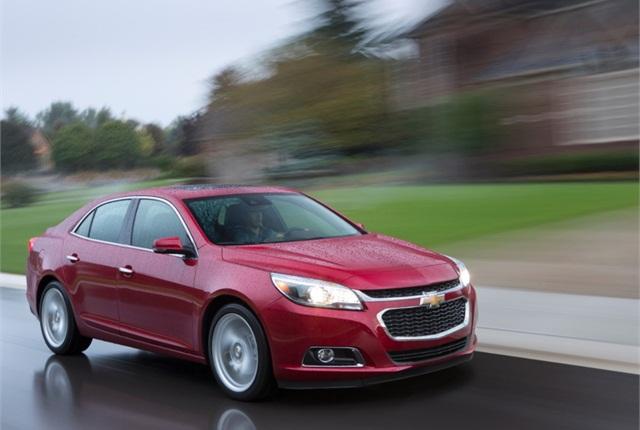 2014 Chevrolet Malibu. Photo copyright General Motors.