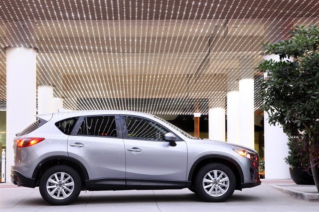 2014 CX-5, Photo courtesy of Mazda.