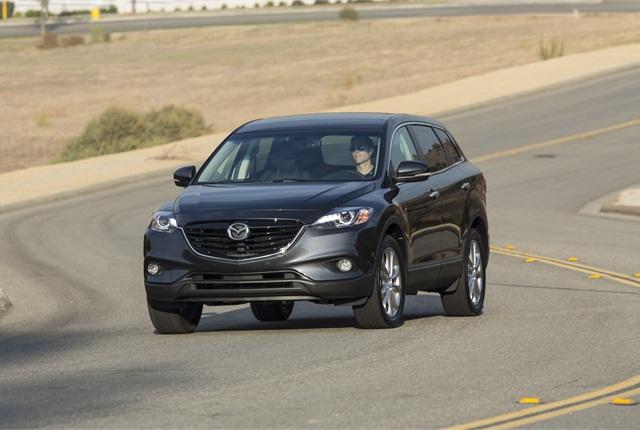 Photo of 2014 Mazda CX-9 courtesy of Mazda.