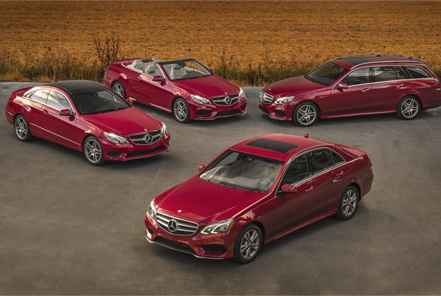 Photo of Mercedes-Benz E-Class vehicles courtesy of Mercedes-Benz USA.