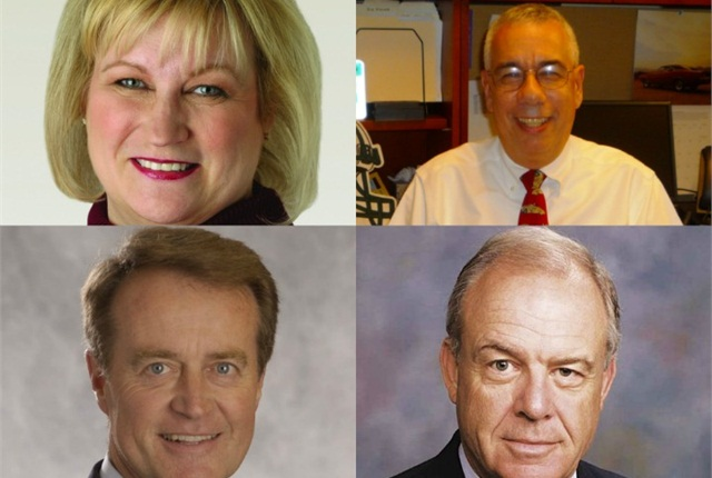 (clockwise from upper left) Brownson, Levine, Ward, and McVeigh.