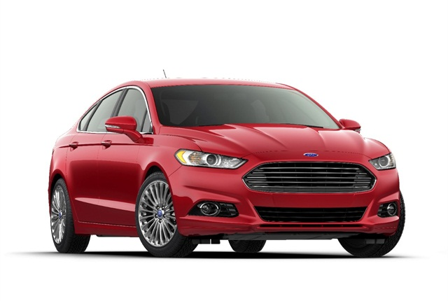 2014 Ford Fusion photo courtesy of Ford Motor Co.