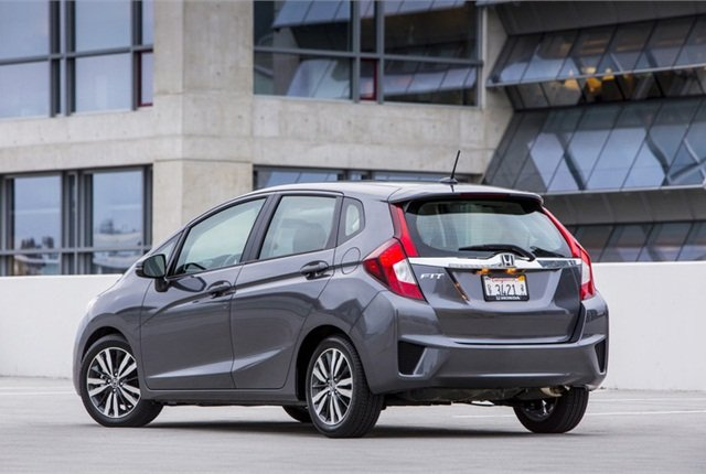Photo of Honda Fit courtesy of Honda.