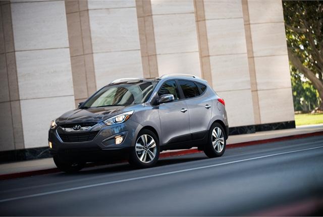 Photo of 2014 HyundaiTucson courtesy of Hyundai Motor Co.