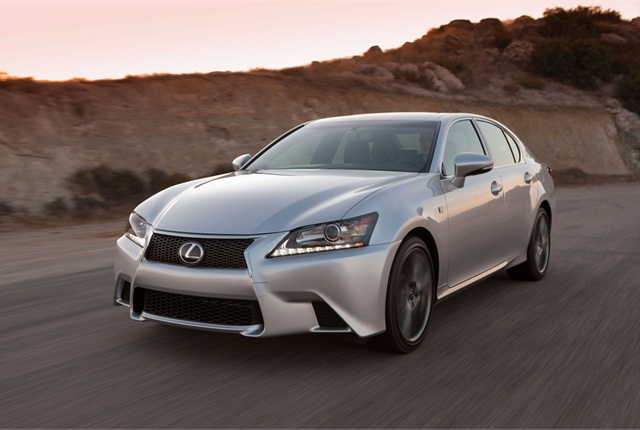 The 2014 Lexus GS 350. Photo courtesy Toyota.