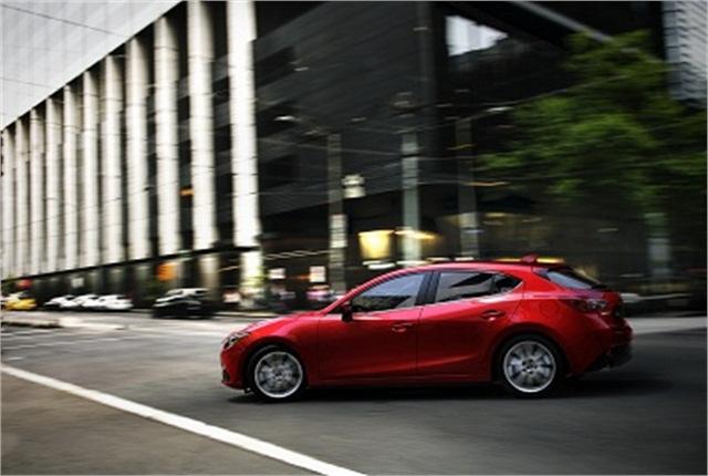 2014 Mazda3 photo courtesy of Mazda.