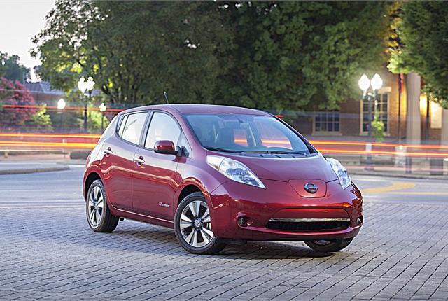 Photo of 2014 Nissan LEAF courtesy of Nissan.
