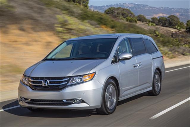 Photo of 2014 Honda Odyssey courtesy of Honda.