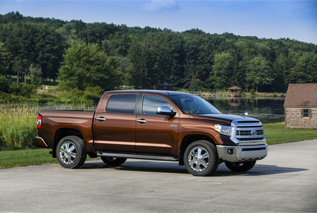 Photo of 2014 Toyota Tundra pickup truck courtesy of Toyota.