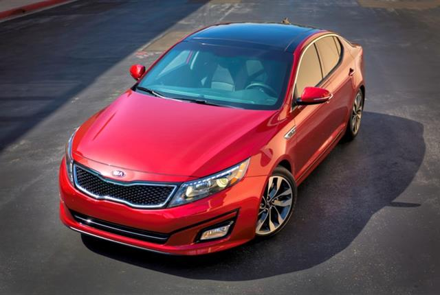 Photo of Kia Optima courtesy of Kia.