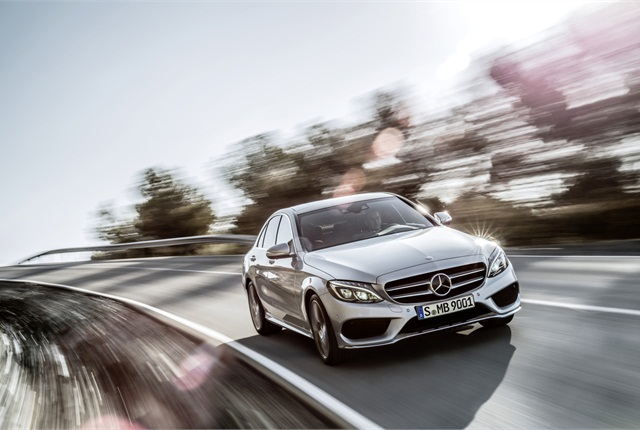 Photo of 2015 C Class courtesy of Mercedes-Benz.