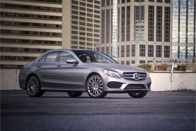 Photo of the 2015 C-Class courtesy of Mercedes-Benz.