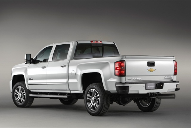 Photo of 2015 Chevrolet Silverado 2500 HD truck courtesy of General Motors.