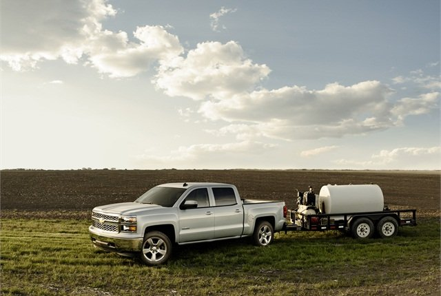 Photo of Chevrolet Silverado courtesy of GM.