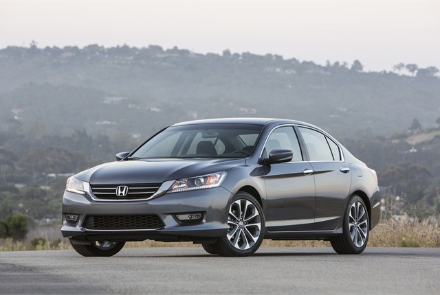 Photo of Honda Accord courtesy of Honda.