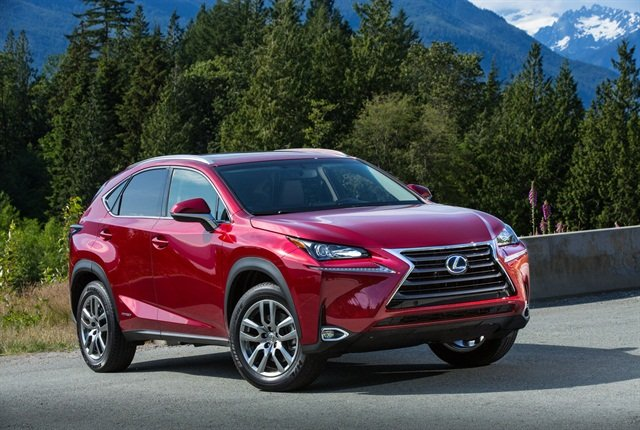 Photo of the 2015 NX 300h courtesy of Lexus.