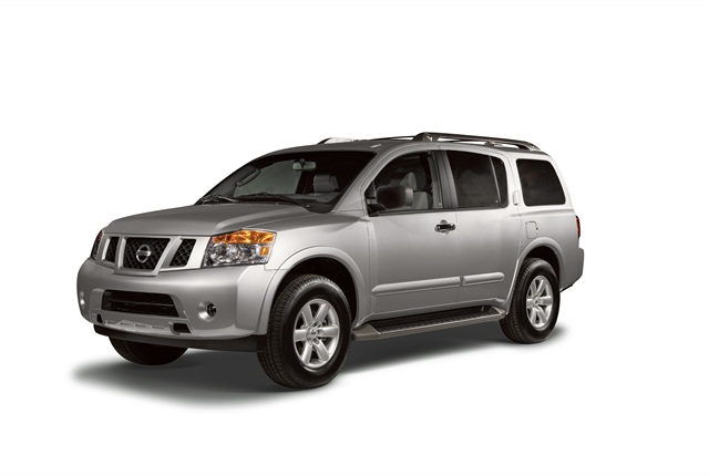 Photo of Nissan Armada courtesy of Nissan.