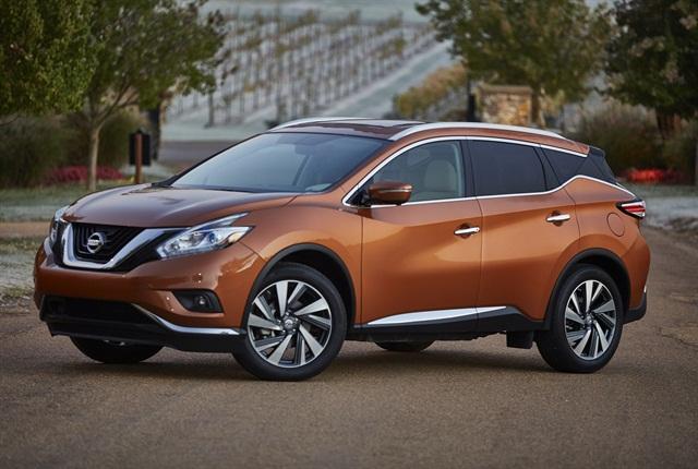 Photo of 2015 Murano courtesy of Nissan.
