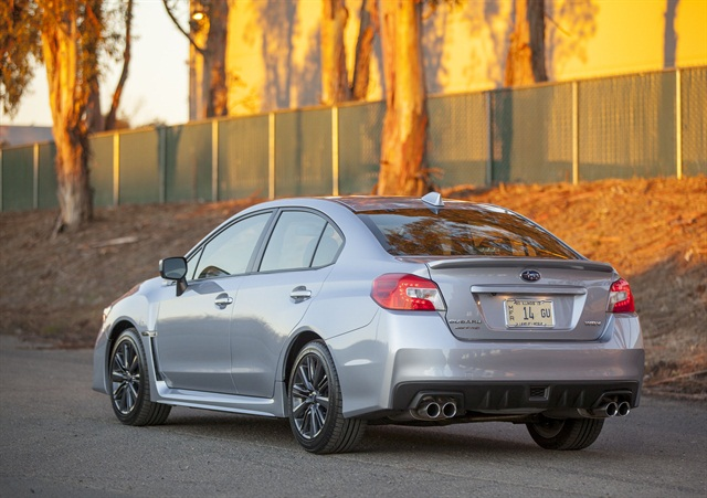 2015 Subaru WRX. Photo courtesy of Subaru.
