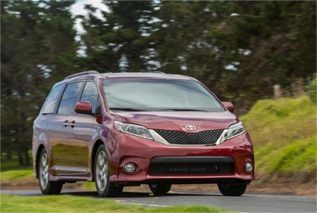 Photo of Toyota Sienna courtesy of Toyota.