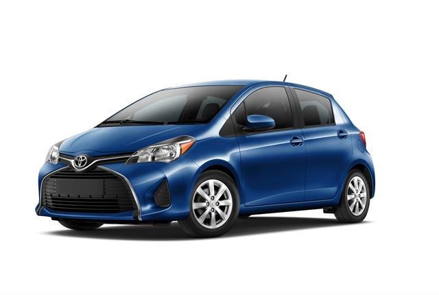 Photo of Toyota Yaris courtesy of Toyota.