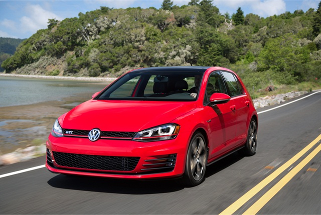 <p><strong><em>Photo of 2015 Volkswagen GTI courtesy of Volkswagen.&nbsp;</em></strong></p>