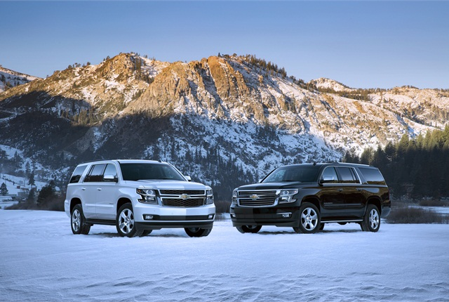 2015-MY Chevrolet Tahoe and Suburban (PHOTO: General Motors)